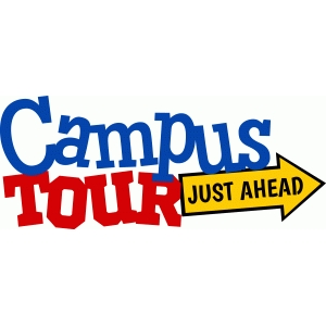 campus tour just ahead