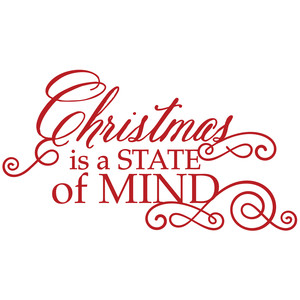 christmas is a state of mind quote