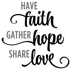Silhouette Design Store View Design 131144 Have Faith