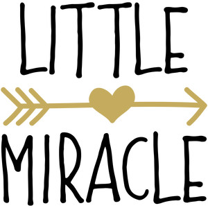baby t-shirt: little miracle