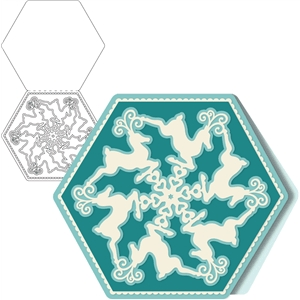 card kit reindeer snowflake
