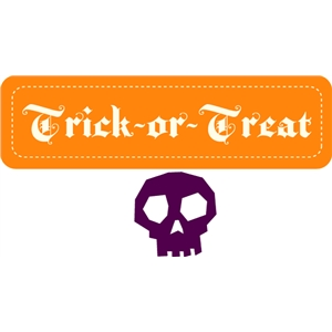 echo park trick or treat & skeleton
