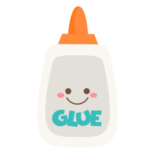 cute glue bottle