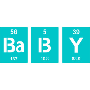 periodic table baby