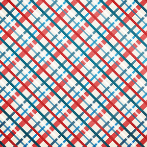 patriotic plaid paper