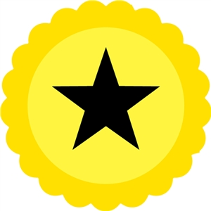 star bottlecap