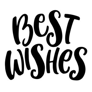 best wishes phrase