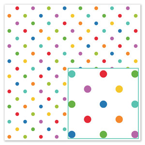 baptism day dots paper