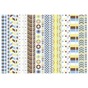 matching baby boy washi tape