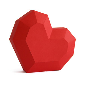 heart diamond box