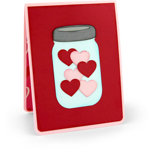 twist pop card love jar