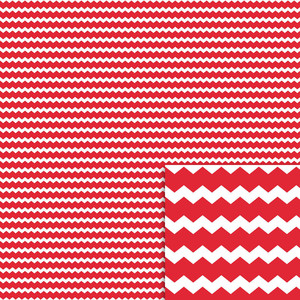 red chevron background paper
