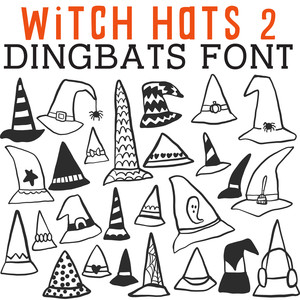 cg witch hats dingbats