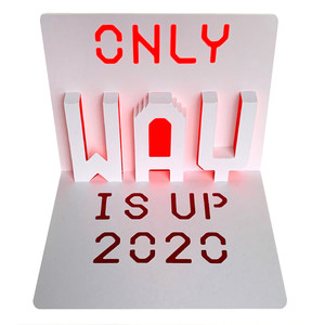 the only way is up 2020 popup card