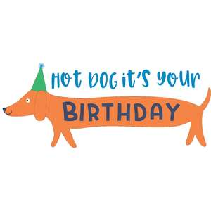 hot dog it's your birthday