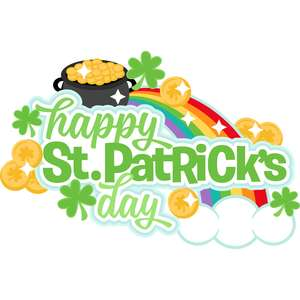 happy st. patrick's day title