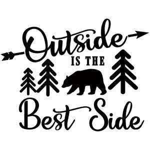 outside is the best side