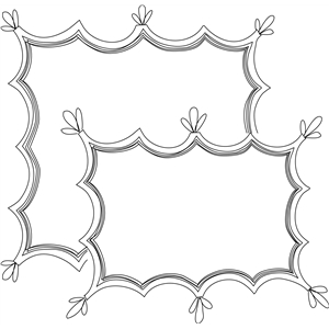 holly sketch border
