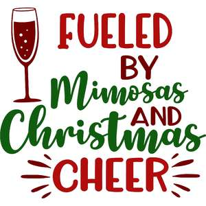 fueled by mimosas and christmas cheer