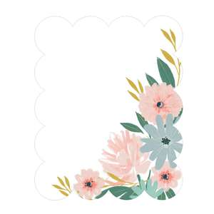 scalloped floral invite right corner