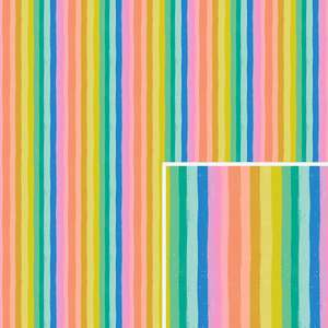 vertical rainbow stripes pattern