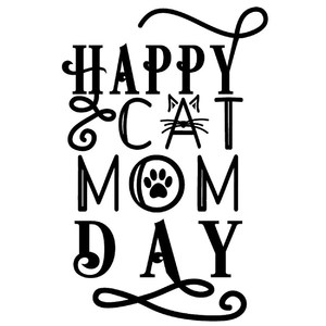 happy cat mom day