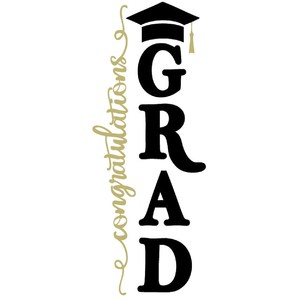 congratulations grad vertical