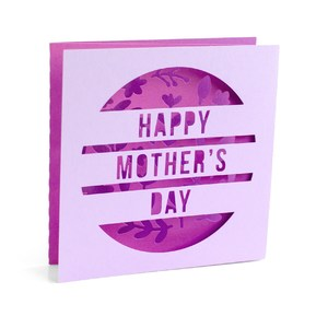 mothers day tri-fold card