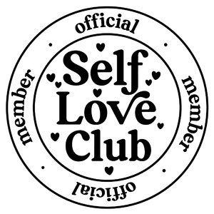 self love club member badge