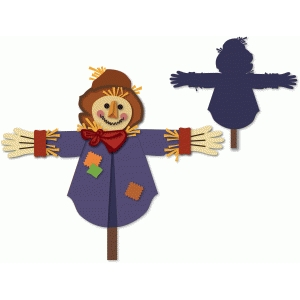 scarecrow stick figure decoration