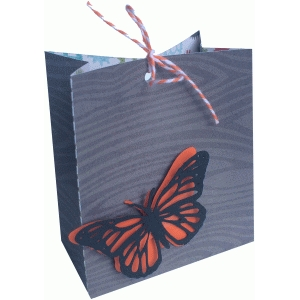 monarch butterfly gift bag