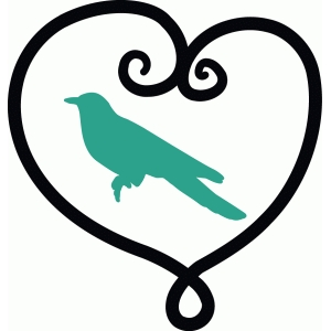 bird in heart