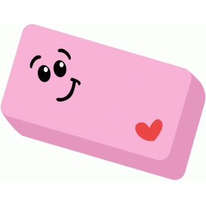 school supplies eraser