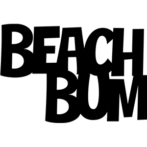 'beach bum' phrase