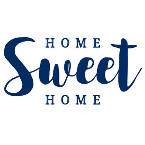 home sweet home quote