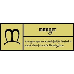 m is for manger pc