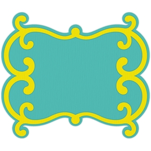 decorative frame shape