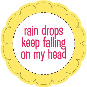 raindrops keep falling