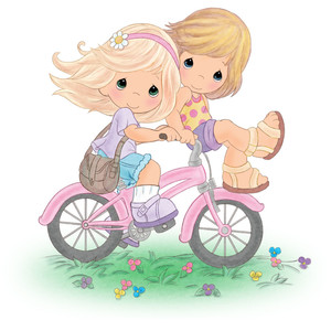 best friends bike ride