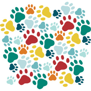 silhouette design store view design 230354 paw print background