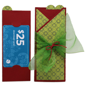 gift card holder wrap