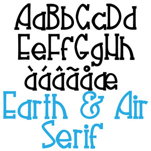 zp earth & air serif