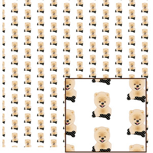 cute doggy pattern