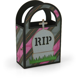 2 on 12x12 bag halloween tombstone