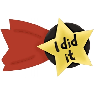 'i did it' phrase