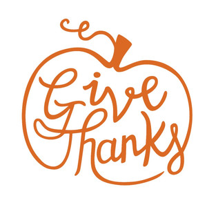 give thanks thanskgiving phrase