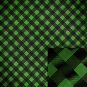 christmas green buffalo check background paper