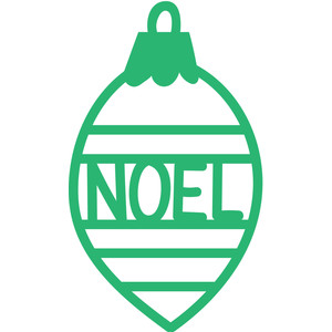 christmas ornament tag noel