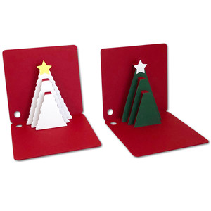 pop-up tree gift tags