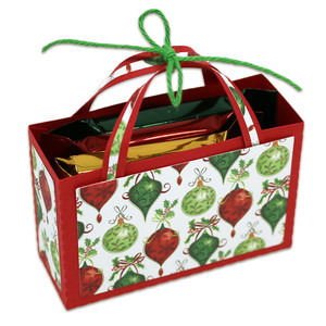 chocolate square candy holder bag